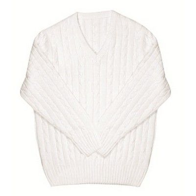 Kiddies Printed Cricket Knit Sweater Min 25 - Clothing - Sports Uniforms - Cricket teamwear - TO-7CJ1-K - Best Value Promotional items including Promotional Merchandise, Printed T shirts, Promotional Mugs, Promotional Clothing and Corporate Gifts from PROMOSXCHAGE - Melbourne, Sydney, Brisbane - Call 1800 PROMOS (776 667)