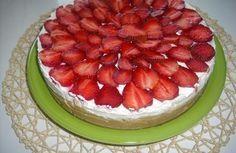 Nepečený tvarohový koláč