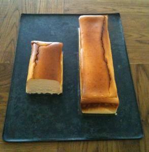 Gateau au Fromage halfチーズケーキ ハーフサイズ 3~4カット分11.5cm×7cm×h5cm (画像左)賞味期限/発送日より3日★2月中旬から箱の側面のデザインが変更となります・・・・・・・・・