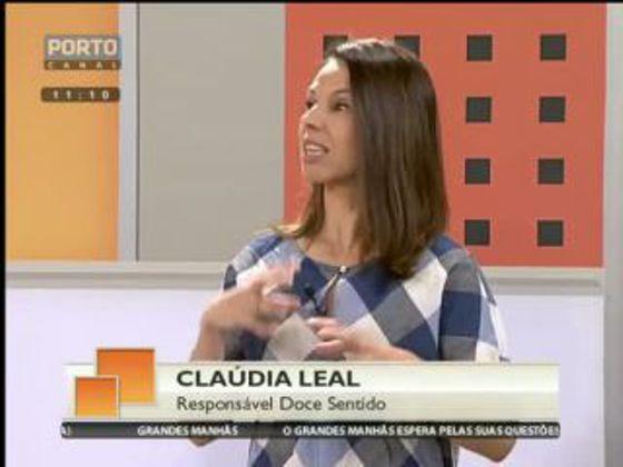 Entrevista à Chef Cláudia Leal no programa Grandes Manhãs do Porto Canal.