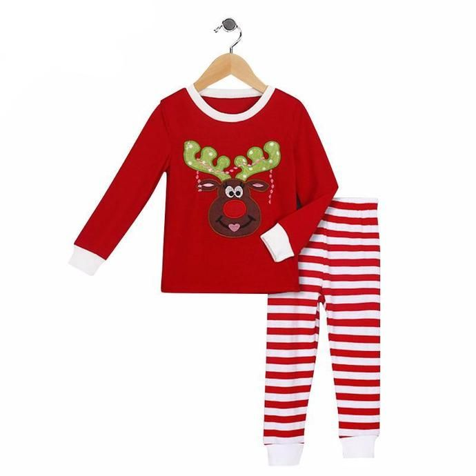 7b59350840 Striped Embroidered Deer Outfits Get your s now at 👉 furrpleshop👈 or  check bio for