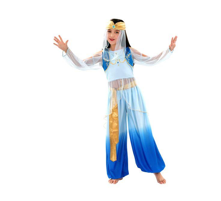 Disfraz barato de Princesa Mora para niñas de 10 a 12 años por sólo 23.25 € » Disfraces baratos de árabe e hindú » tienda online de disfraces baratos