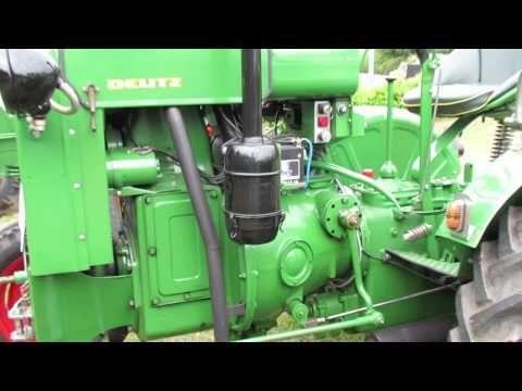 YouTube Hersteller:DEUTZ Gebaut:   1936 bis 1951 Typ:        F1M414/16 Baujahr:  1948 Zylinder:  1 LeIstung(PS):11