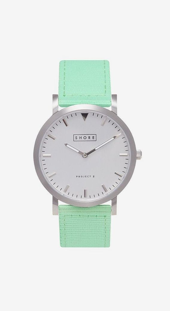 Shore Projects Mint Watch