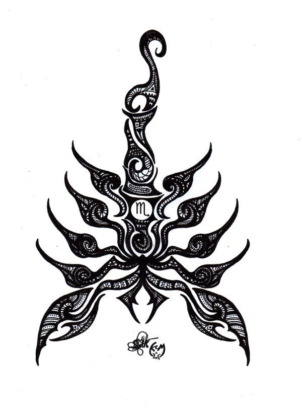 Update: Check out the actual tattoo: BAD ASS! -- Very inspired by the Maori style and so I tried to make it that way. I don't know whether this technically is Maori style so let's just say it's tri...