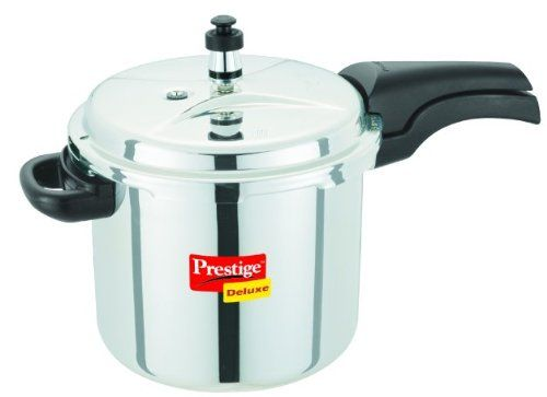 Prestige pressure cooker adds safety and style to any kitchen. It retains basic safety features that are found in any traditional pressure cooker. These cookers are usable on a number of multiple cooktops. It is a practical and viable option to use in any kitchen.