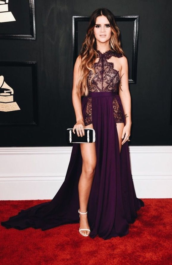 Marren Morris on the Grammy's Red Carpet