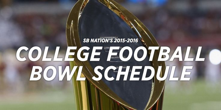 Your one-stop College Football 2015 bowl schedule with picks and more.