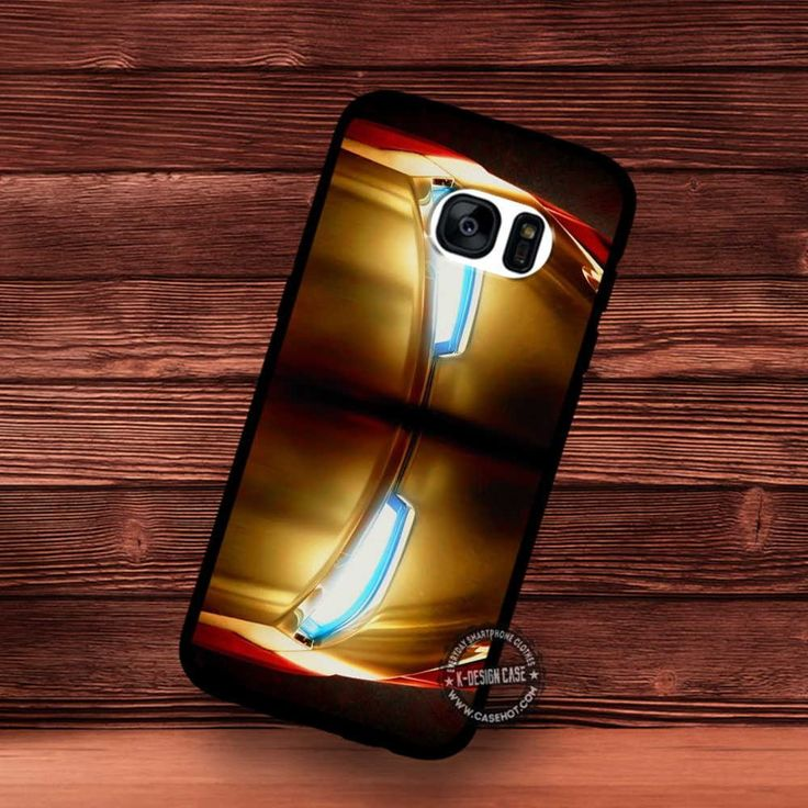 Iron Man Helmet Superheroes - Samsung Galaxy S7 S6 S5 Note 7 Cases & Covers