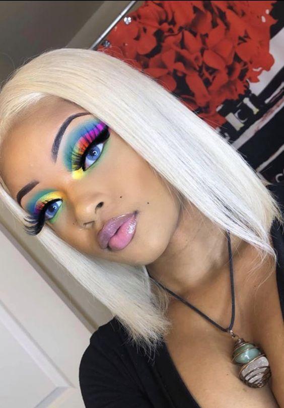 Heavenly Hair By Nicole In 2020 Creative Makeup Looks Makeup