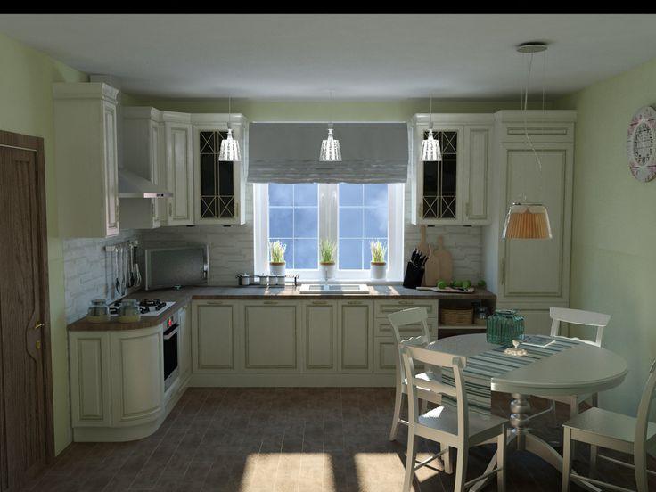 Прованс - ALNO. Современные кухни: дизайн и эргономика | PINWIN - конкурсы для архитекторов, дизайнеров, декораторов