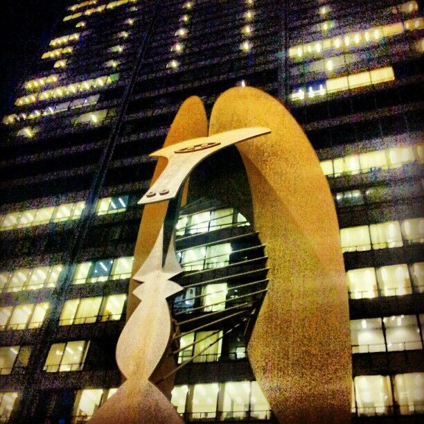 Daley Plaza in Chicago, IL - Home to the Daley Center, City Hall, and Chicago's famous Picasso statue.