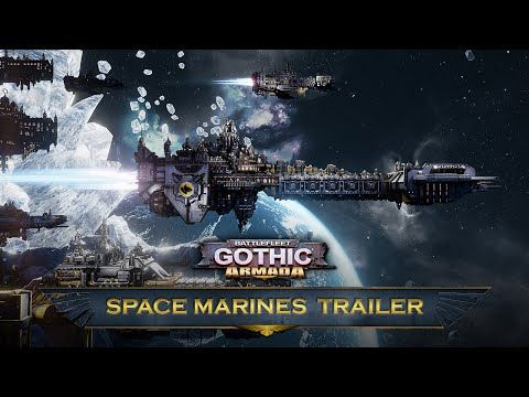 Battlefleet Gothic: Armada - Space Marines Trailer - YouTube | Battlefleet Gothic: Armada, the RTS videogame adaptation of Games Workshop's classic tabletop game by Tindalos Interactive today unveils a new video trailer presenting the Space Marines - its upcoming faction. The Space Marines fleet will be available on June 21, and will be playable in the multiplayer modes of Battlefleet Gothic. #Gaming #VideoGames #Space #SciFi #ScienceFiction #RealTimeStrategy #RTS #Warhammer40k