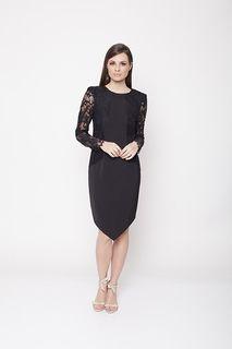 Ladies Dresses Online | Botanica Lace Long Sleeve Dress | ROMANCE