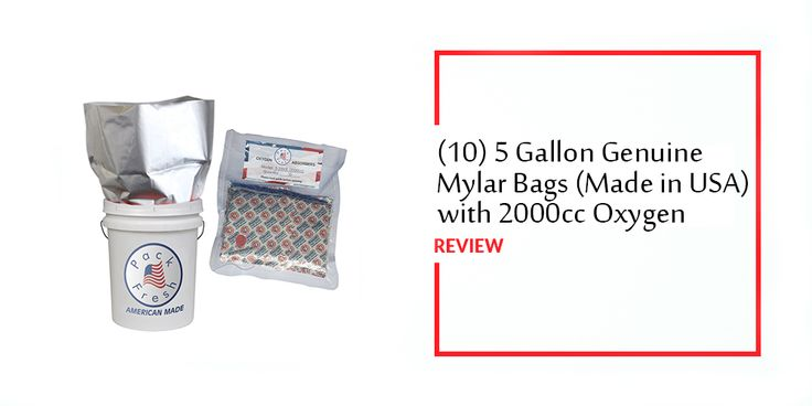 https://besthumidifierhub.com/10-5-gallon-genuine-mylar-bags-2000cc-oxygen-absorbers-review/  (10) 5 Gallon Genuine Mylar Bags with 2000cc Oxygen Absorbers Review #OxygenAbsorbersReview #Review