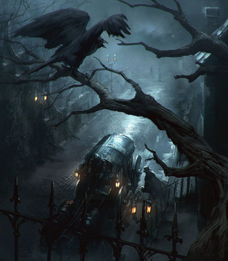 The Raven, Joakim Ericsson on ArtStation at https://www.artstation.com/artwork/AgvVy