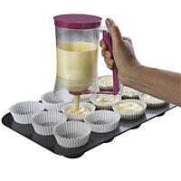Cupcake batter dispenser