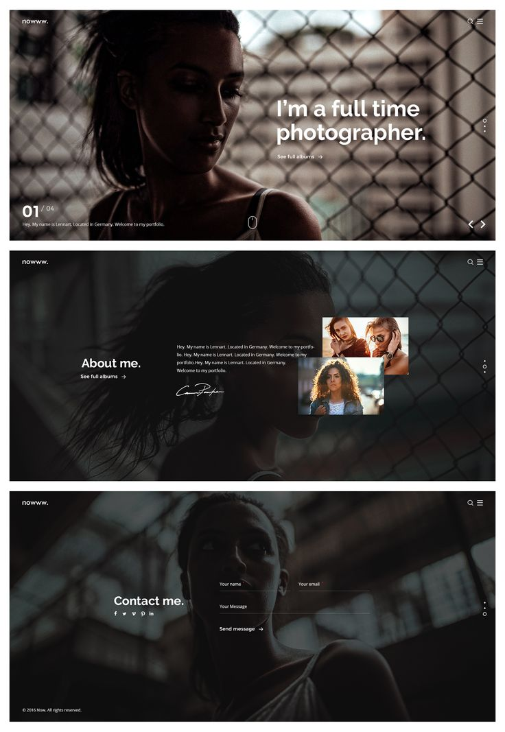 Photography Nowww Creative Portfolio Agency Freelancer