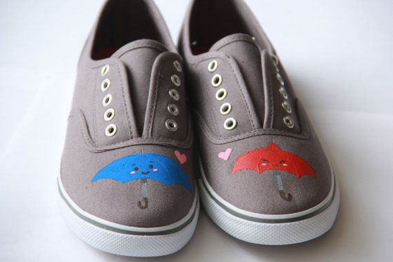 Disney Pixar short The Blue Umbrella shoes by SumWishfulThinking