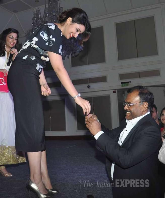 Parineeti Chopra at the launch of online jewellery store Stylori.