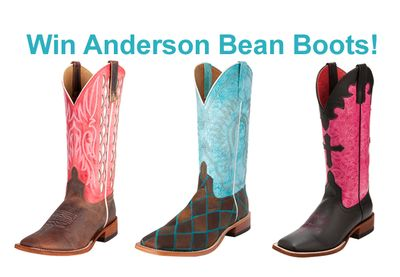 Win Anderson Bean Boots!
