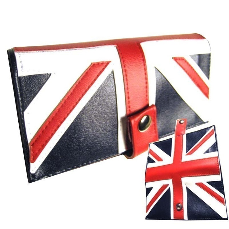 British ) Pocketbook Slash Checkbook Wallet via Etsy.