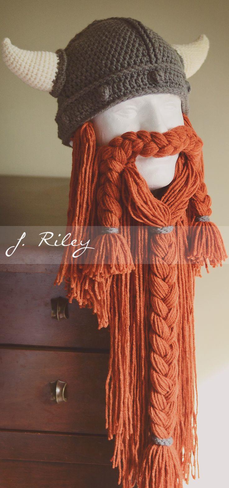 The 25 Best Viking Hat Crochet Pattern Ideas On Pinterest