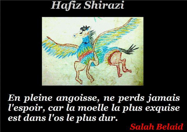 La Pensée Du Jour: L'angoisse ( Hafez Shirazi )