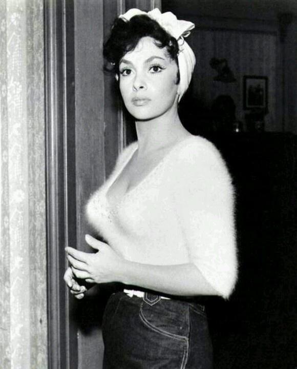Gina Lollabrigida, beauty inspiration.