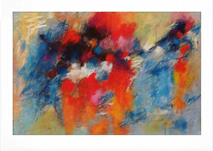 Pastel on paper  19,5x30 cm