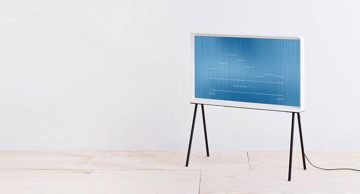 Serif TVs unika form har skapats för att passa dina inredningsidéer.