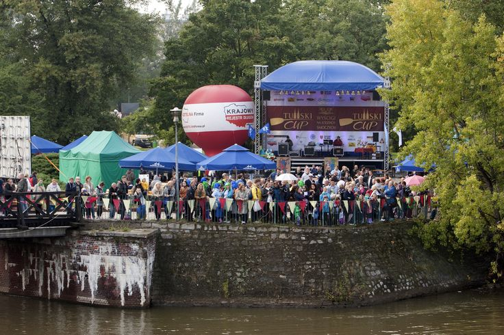 A Tumski Cup 2013 stage from the Oder river.