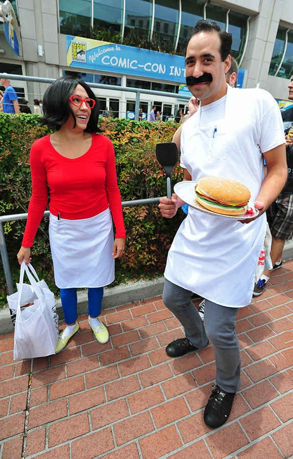 Linda and Bob Belcher from Bob's Burgers