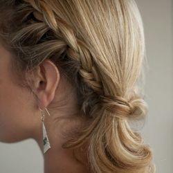 Braided side ponytail (via Hair Romance) + random things I love today.