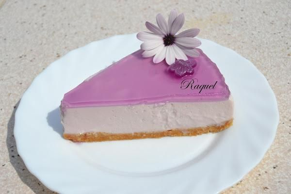 Es una tarta mousse con todo el sabor de estos dulces.