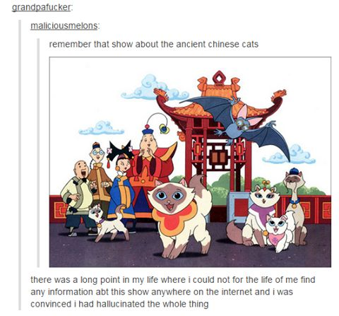 The Name Of The Show Was Sagwa Cat Don T Laugh
