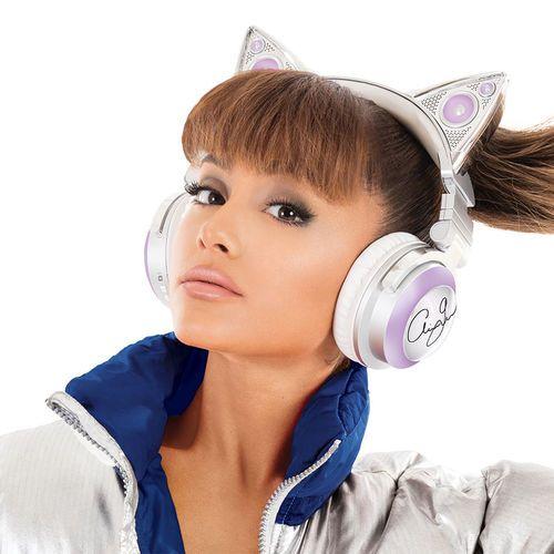 Brookstone Limited Edition Ariana Grande Wireless Cat Ear Headphones - BestProducts.com