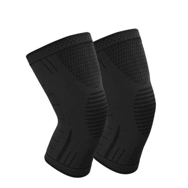 Sports Professional Knees Pads Breathable Elastic Knee Support Fitness Protection Basketball Running Sports In 2020 Knee Pads Sport Running Knee Support