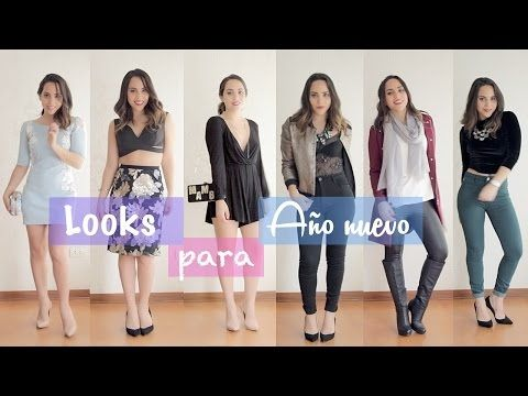 OUTFITS PARA AÑO NUEVO|What The Chic - YouTube