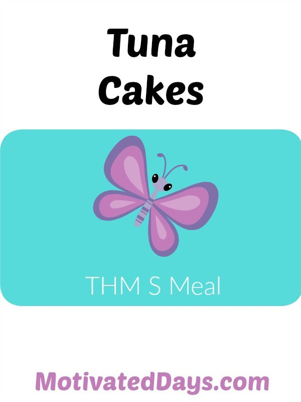 THM Tuna Cakes Need an S meal in a pinch? This one is eays and quick!  #THM