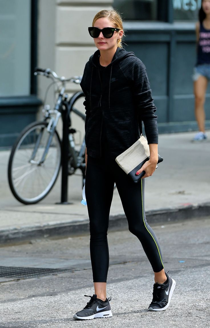 The Surprising Bag Olivia Palermo Takes to the Gym via @WhoWhatWear