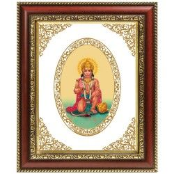 Buy different types of Indian god photo frames for home decoration, pooja room and temples online at Diviniti,   including wall hanging, gold plated & table top god frames.  #photo_frames   #Religious_Gifts