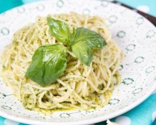 One pot pasta minceur au pesto et au parmesan léger