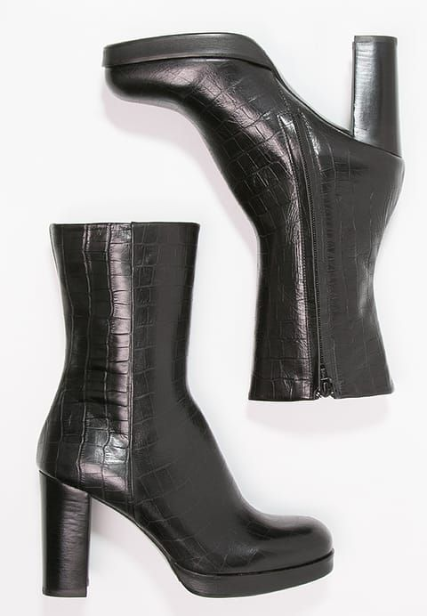 Korte laarzen - black - Zalando.nl
