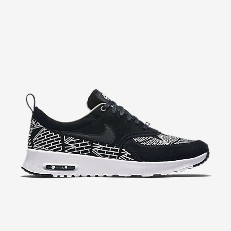 The Nike Air Max Thea iD Women's Shoe featuring customisable colours.