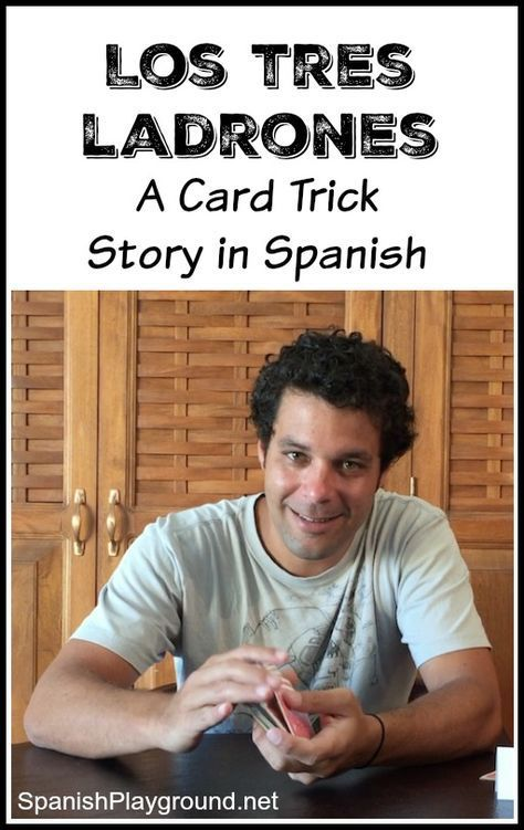 Easy card trick video is a fun story for kids learning Spanish. The classic… #easyspanishlearning
