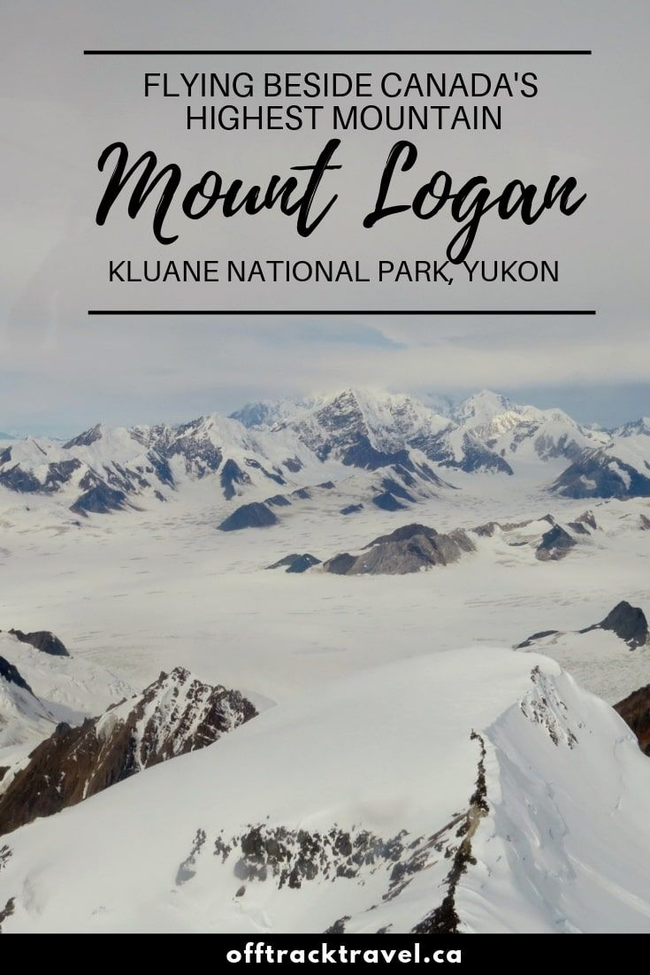 Flying Next To The Tallest Mountain In Canada Kluane National Park Yukon Kluane National Park National Parks Canada Travel