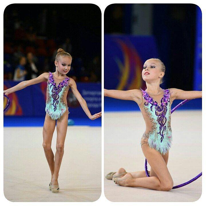Фотографии Купальники для художественной гимнастики от Шави