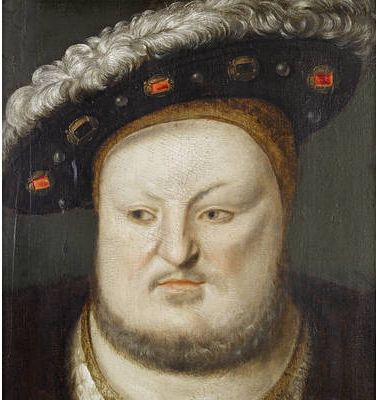 Henry VIII (portrait of c.1548, Anglo-Netherlandish school) visited Lincoln with…
