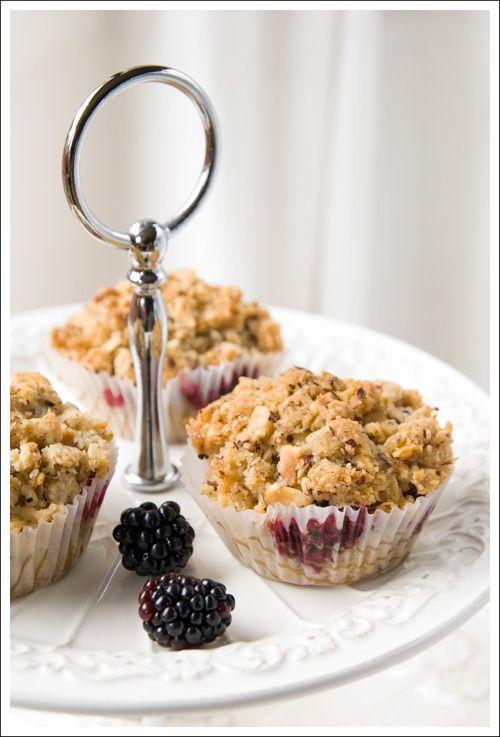 Blackberry-Hazelnut Muffins